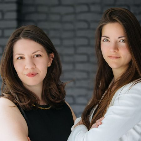Alexandra Cavoulacos and Kathryn Minshew