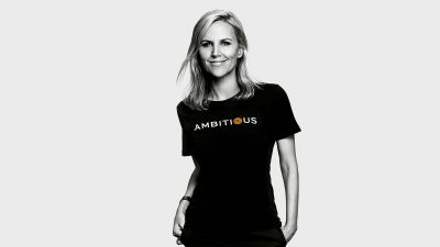 Tory Burch learned to embrace the word 'ambition' and she wants all women to do the same