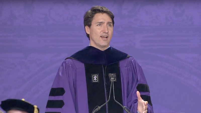 Justin Trudeau to NYU's Class of 2018: 'Do you want to win an argument or change the world?'