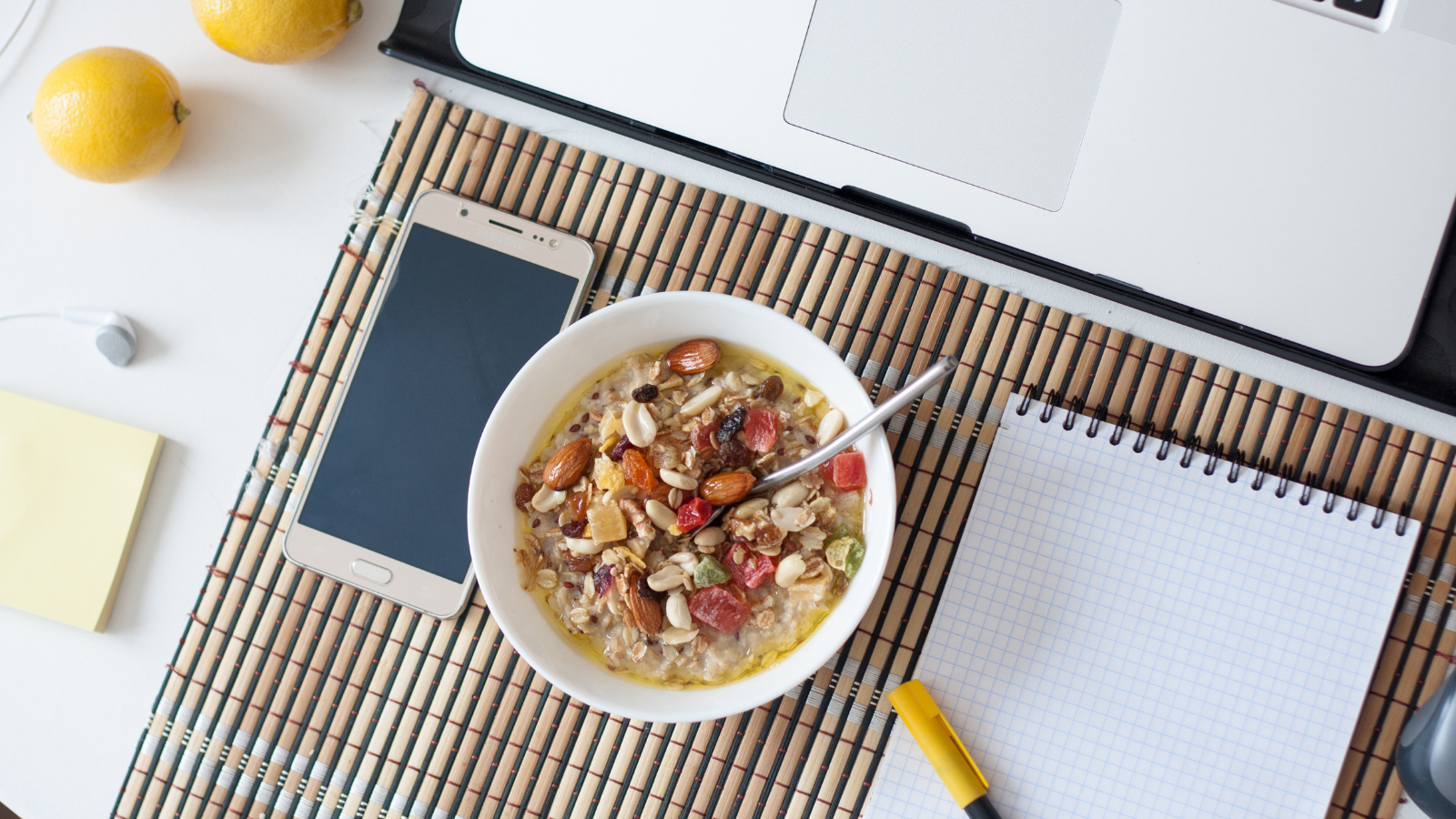 5 keys to eating during the home office