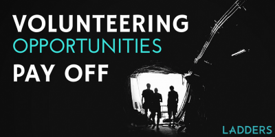 Volunteering Opportunities Pay Off