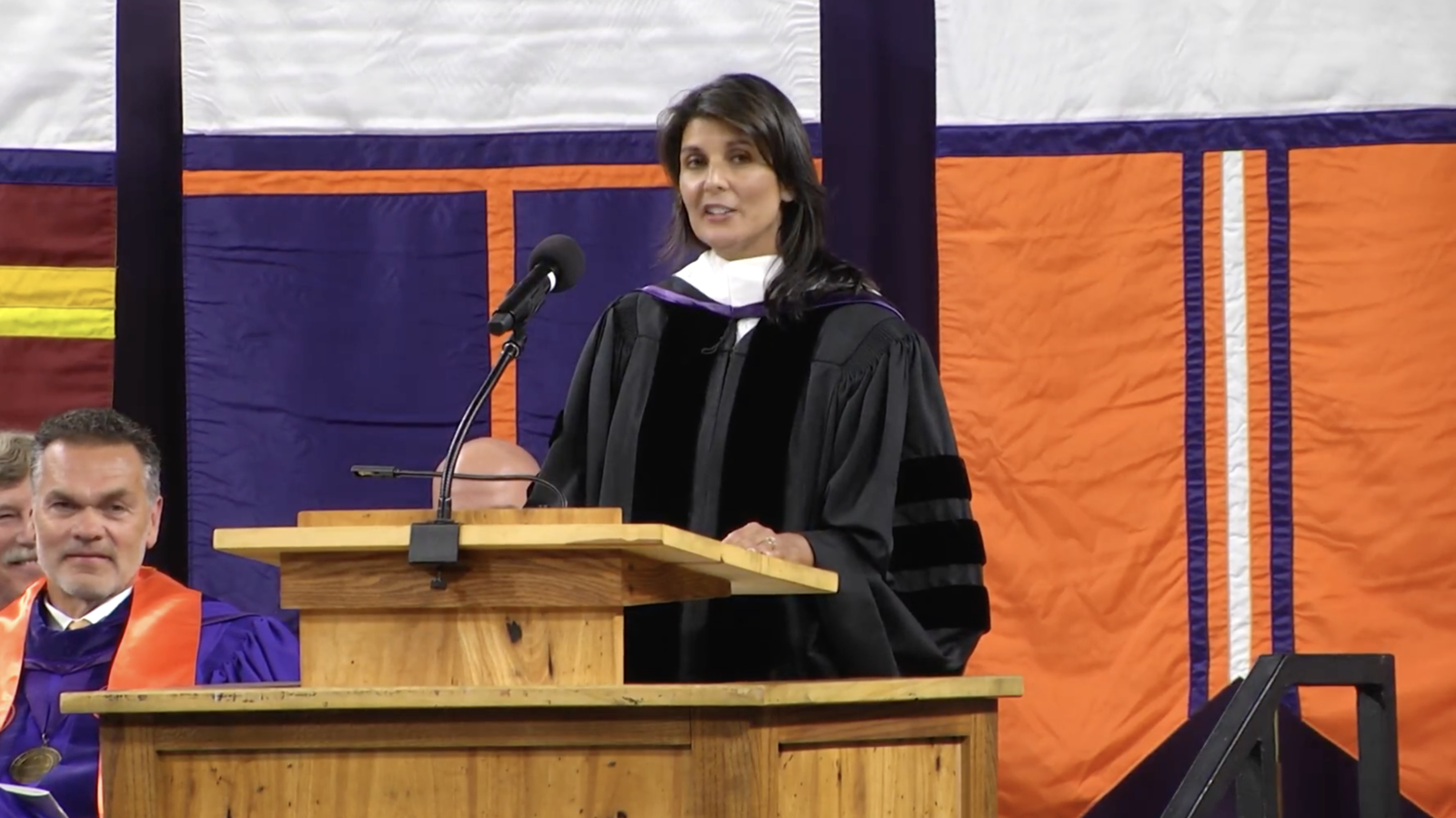 Nikki Haley to Clemson's Class of 2018: 'Social media lives aren't the real world'