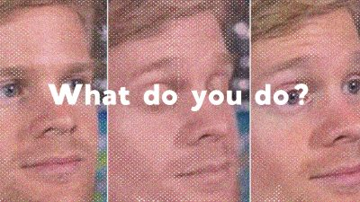 The 'What do you do?' meme shows the perils of small talk