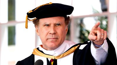 Will Ferrell tells new grads how he overcame his fear of failure