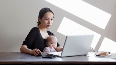 Research: 'Mental load' weighs down working mothers