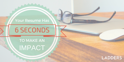 You have 6 seconds to make an impression: How recruiters see your resume