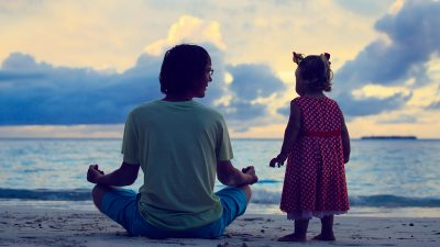 The daily ritual that makes me a calmer, more present dad