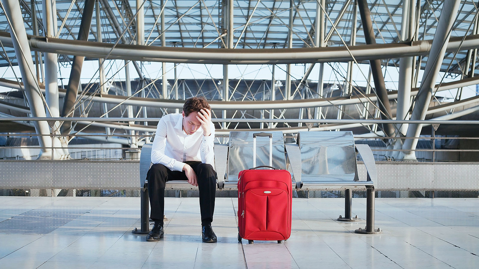 What stresses travelers out the most at an airport might surprise you