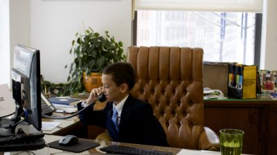Savvy 9-year-old boy becomes chief financial officer for a day at KIND
