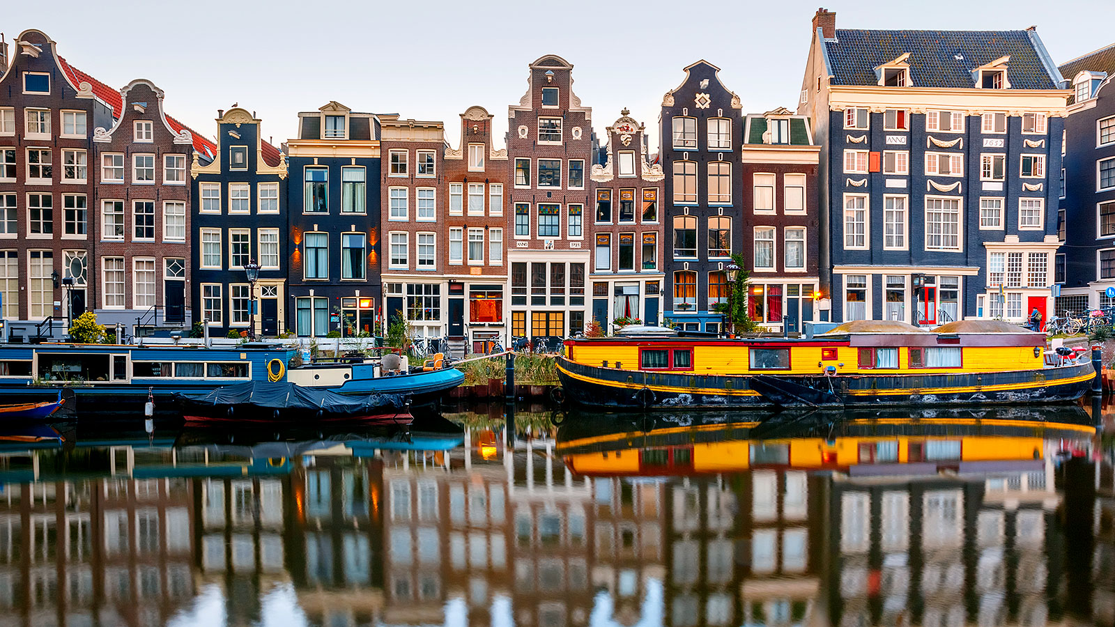 Amsterdam's natural wining and dining