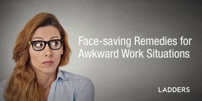 Face-saving Remedies for Awkward Work Situations