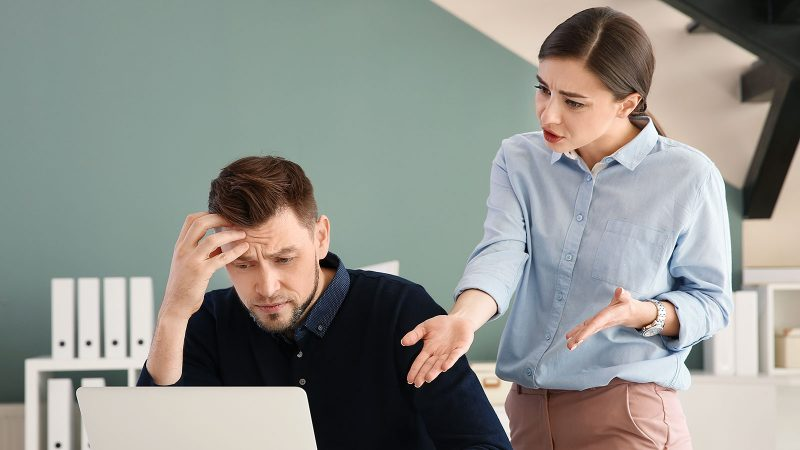 Dealing with a bossy coworker