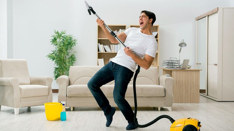 According to a recent study cleaning makes people less hostile