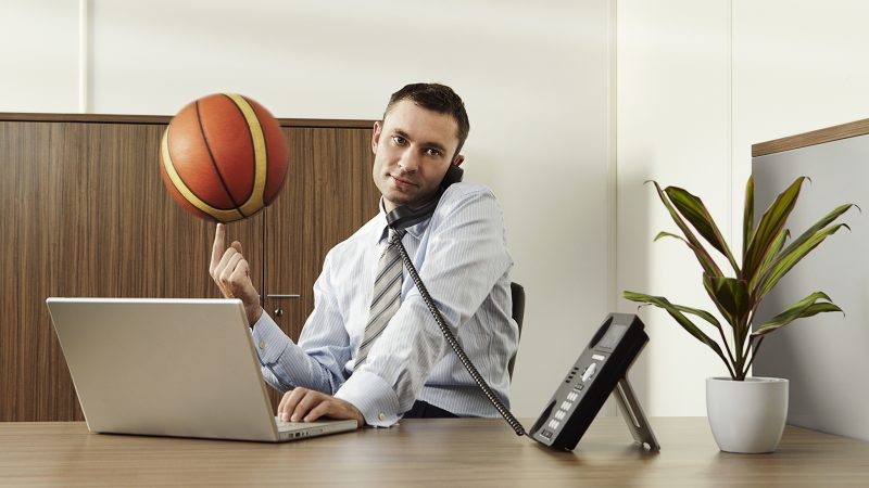 How to deal with decisions about March Madness at work