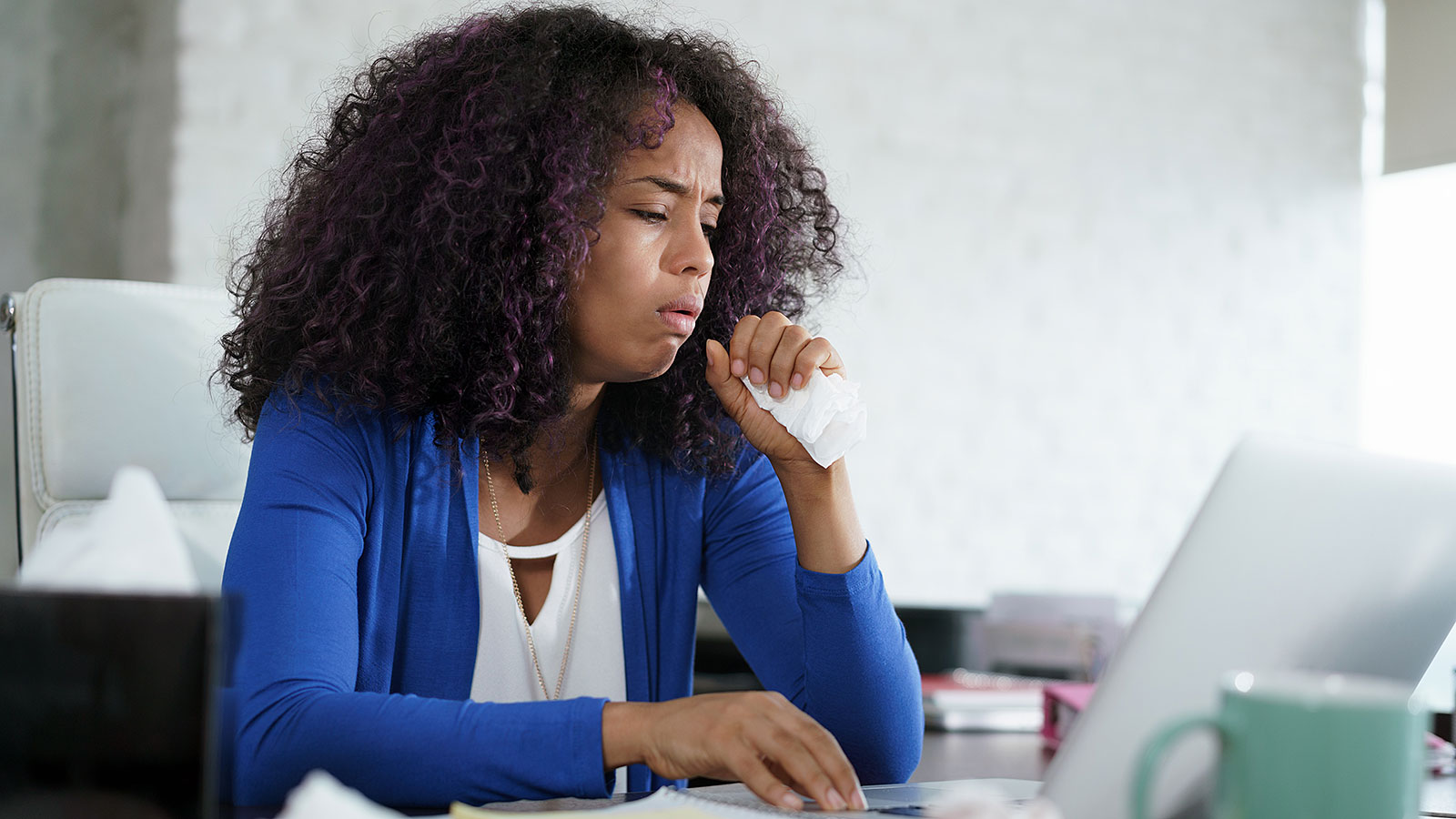 This is what your coworkers are really thinking when you cough in the office