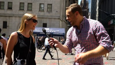 More weird job interview questions answered on the streets of New York