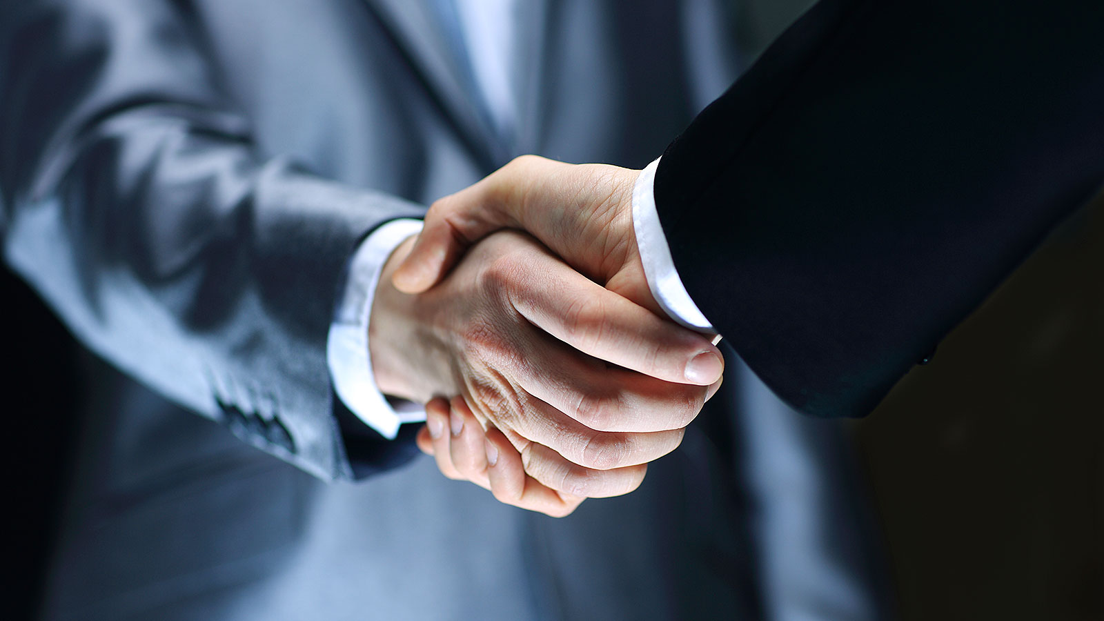 This is the future of the business handshake