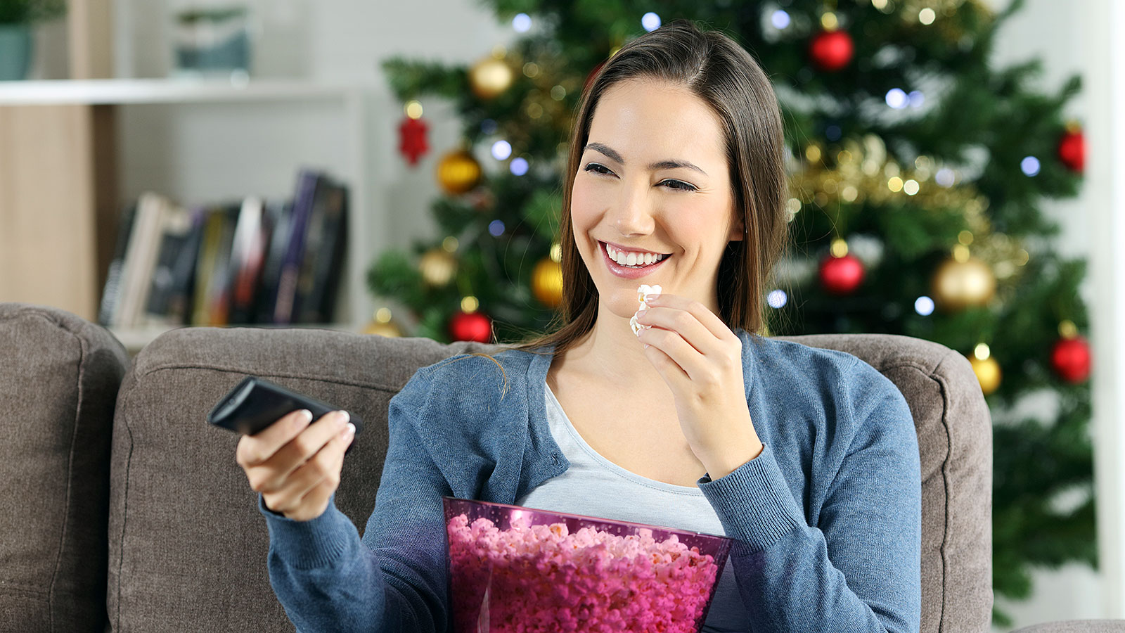 This dream job wants to pay someone to watch Hallmark Christmas movies