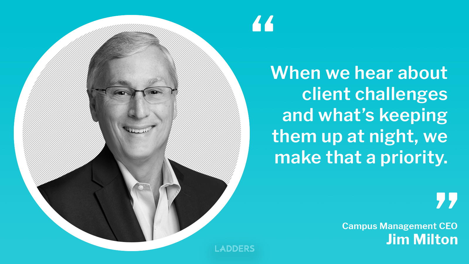Campus Management CEO Jim Milton on transforming higher education and onboarding as an executive