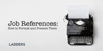 Job References: How to Format and Present Them