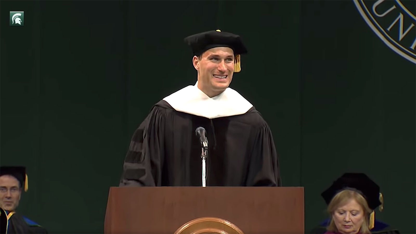 NFL star Kirk Cousins advice for Michigan State graduates is so simple but brilliant