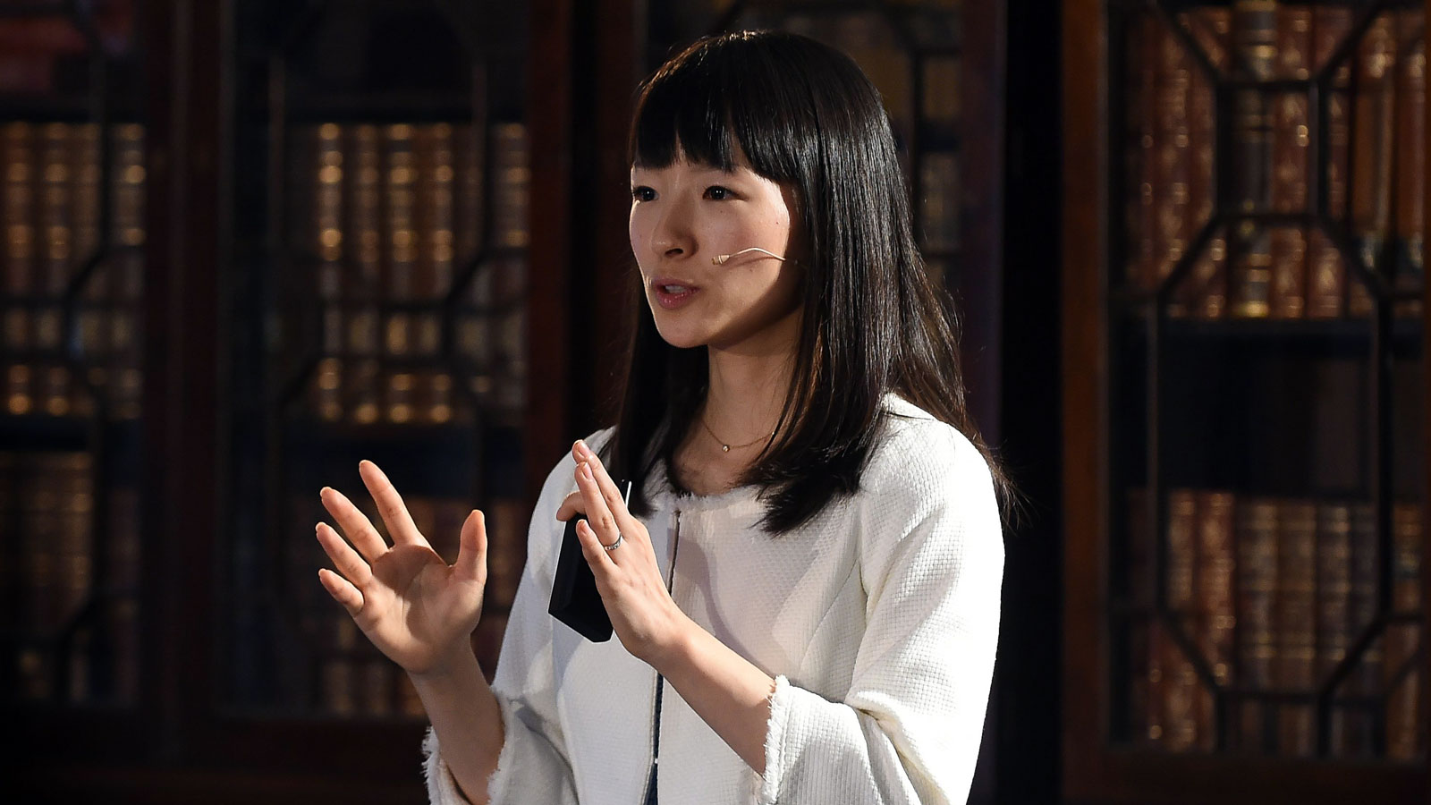 Marie Kondo visited my quarantine workspace to give me a lesson on letting go