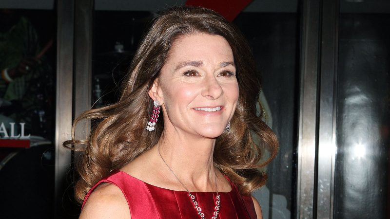 Melinda Gates likes to do this odd thing to jumpstart her morning routine