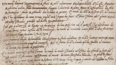 Even a genius has to sell himself… the resume of Leonardo da Vinci