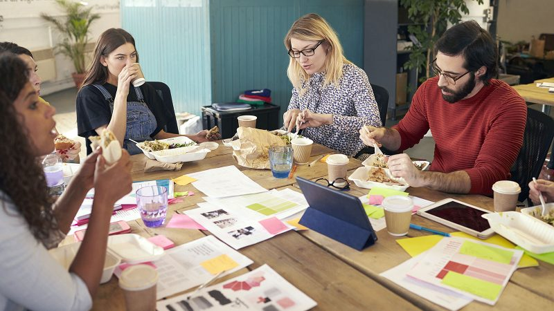 How your employer uses perks like wellness programs, phones and free food to control your life