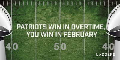 Patriots win in overtime, you win in February