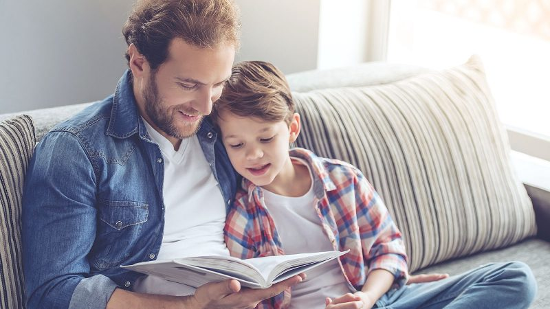 Read your child 5 simple books a day and they'll hear 1.4 million words by kindergarten