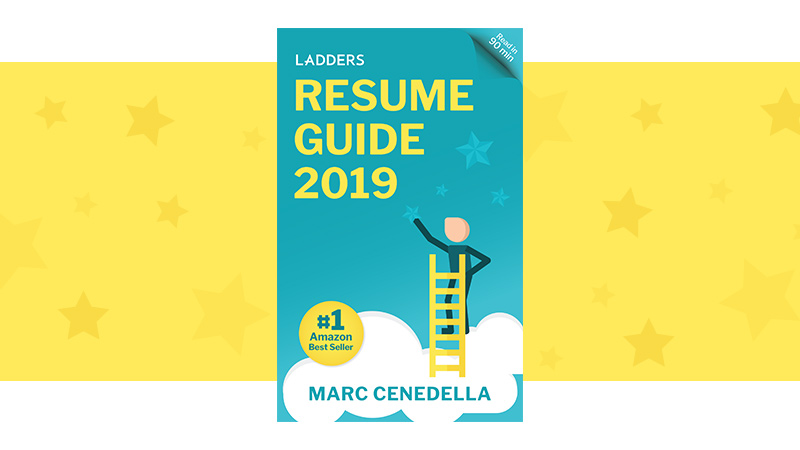 Ladders resume guide book cover; an in-depth answer to the question: Why do you need a resume?