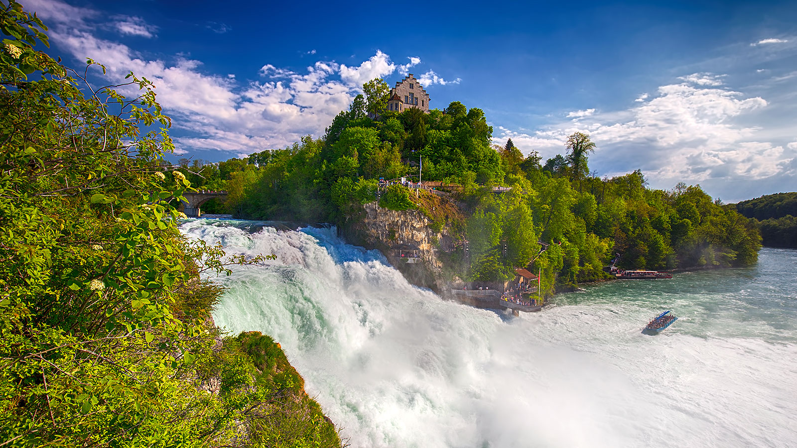 Europe's largest waterfall