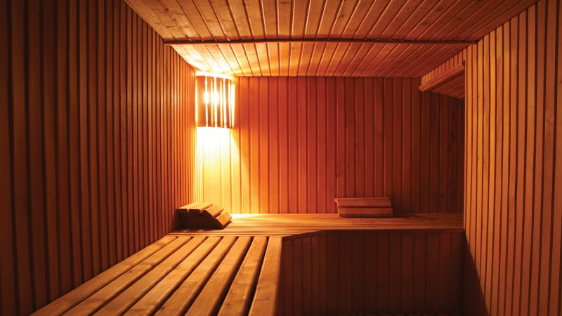 Going to a sauna can lower your risk of stroke by 60%