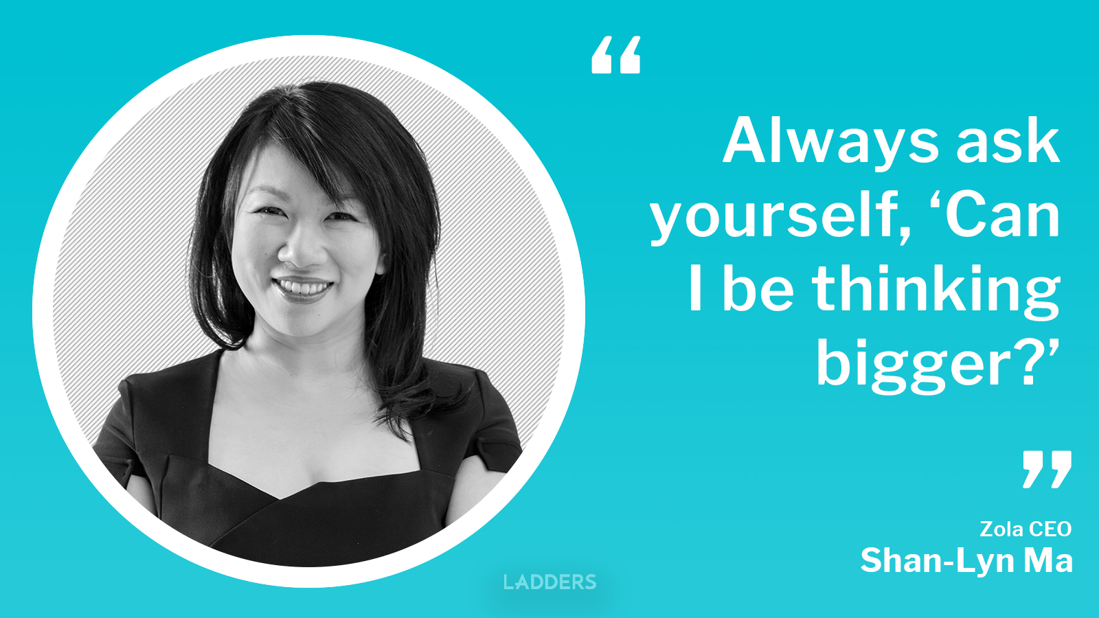 Zola CEO Shan-Lyn Ma on her biggest career risk and the latest trend in the wedding industry