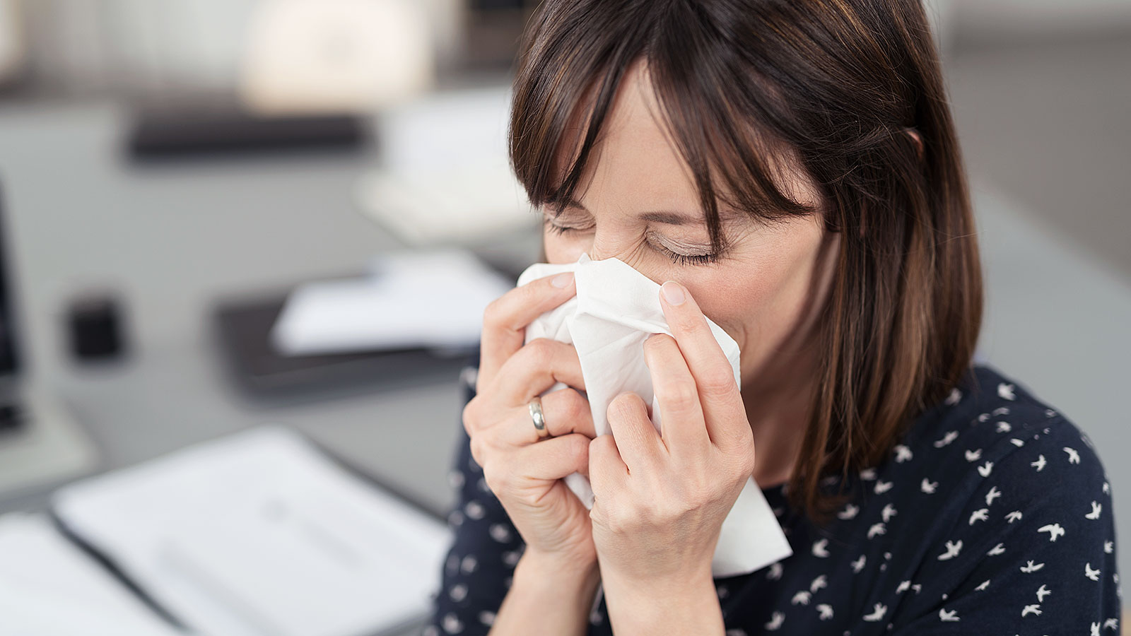 New research finds if the job market is strong, more workers get the flu