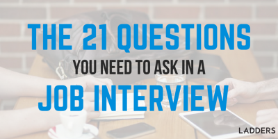 It's Not About Me, It's About You… The 21 Questions You Need To Ask In A Job Interview