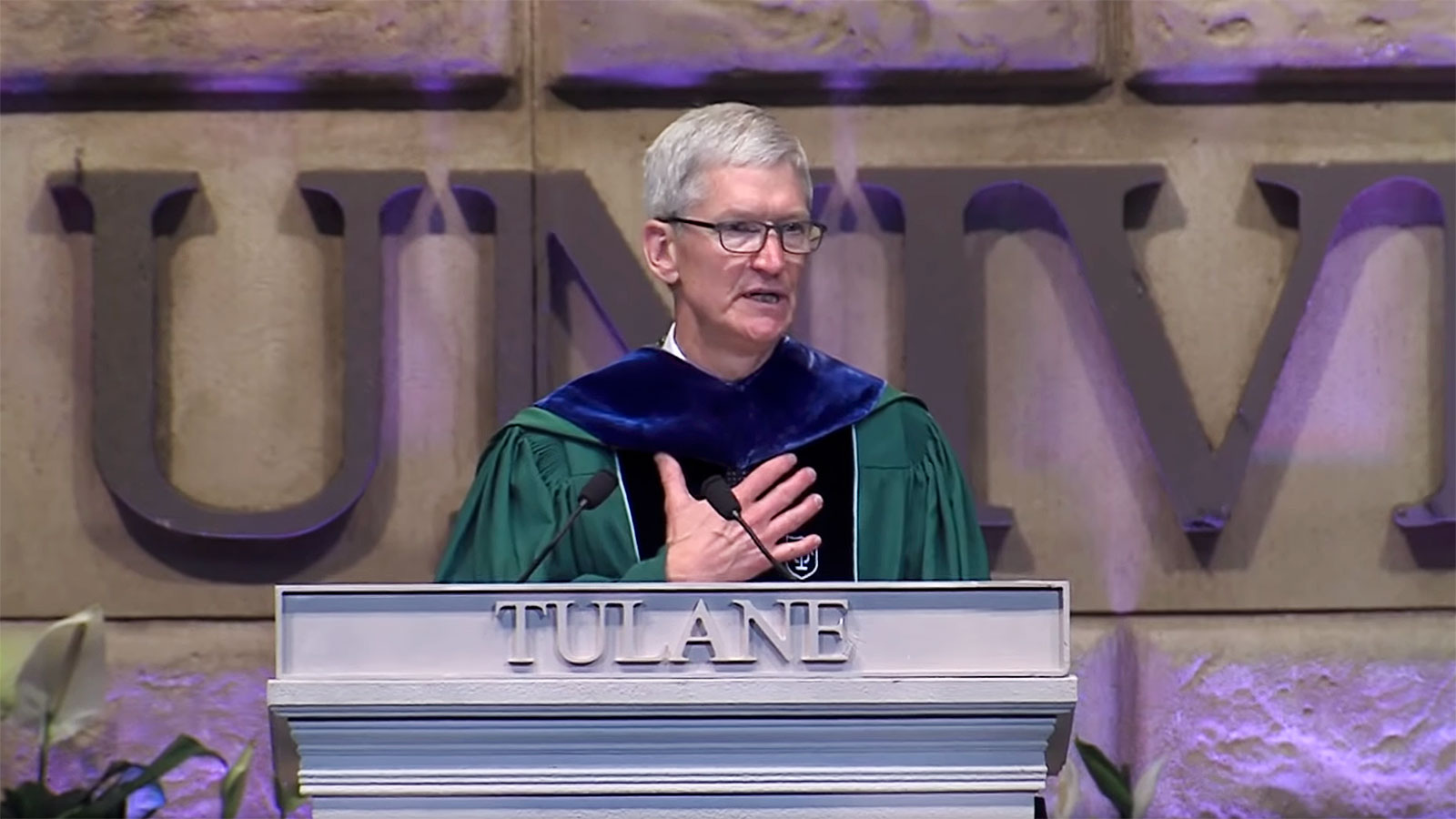 Apple CEO tells college graduates: 'We have failed you'