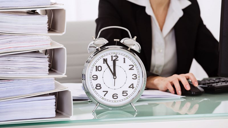 The time of day has a significant effect on your productivity