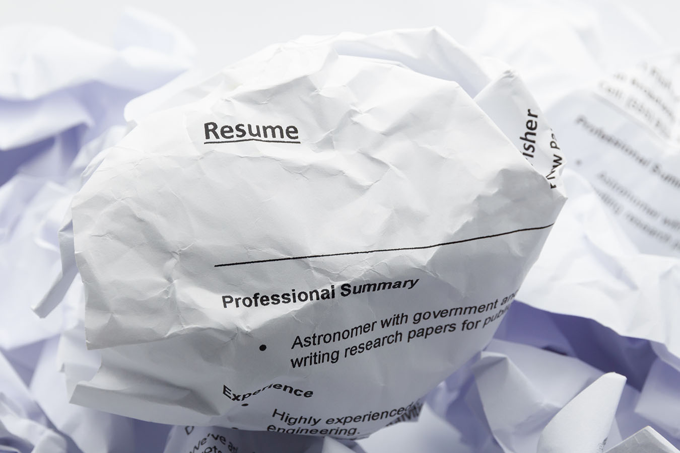 These 10 boneheaded resume mistakes guarantee applicants won't get hired