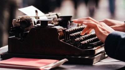 Type delete type: What writers do (or 'Why I'm editing my life')