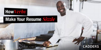 How Verbs Make Your Resume Sizzle