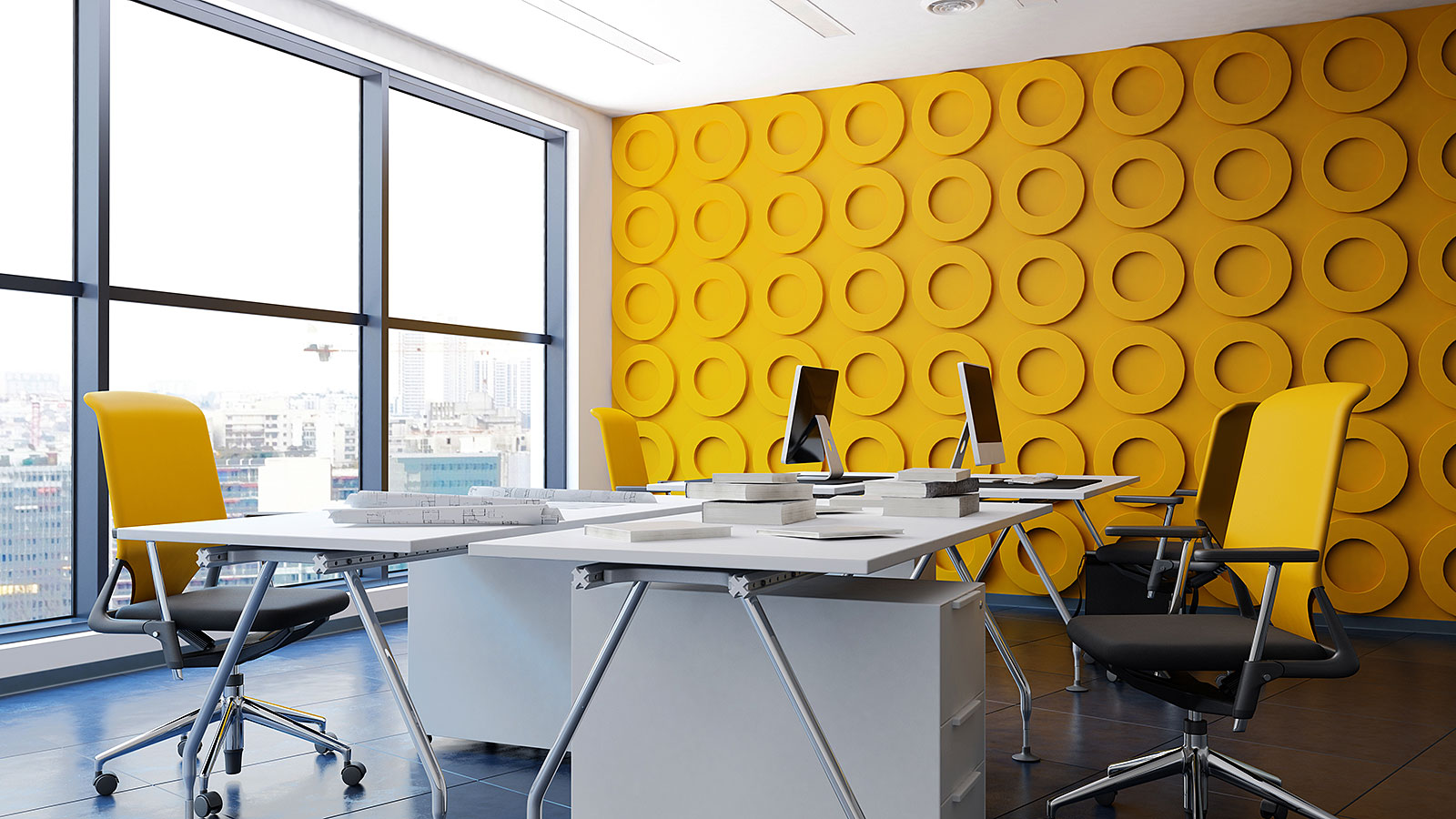 You should never paint your office these colors, according to experts